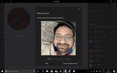 How to Upload Your Picture on Xbox Live Profile on Windows