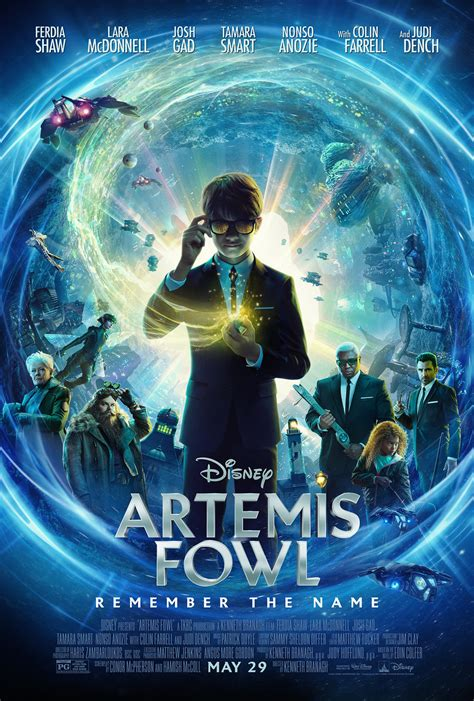 ARTEMIS FOWL unleashes new trailer, poster | MouseInfo