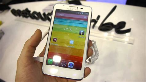 Alcatel One Touch Scribe Easy - YouTube