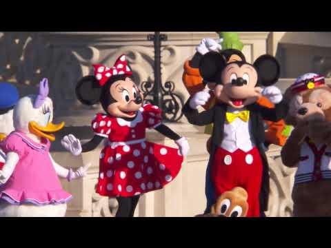 Disneyland Paris Characters and Parade Department Holding