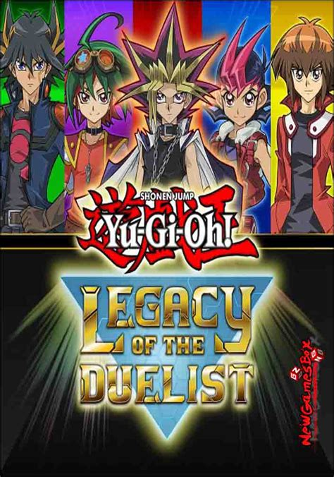 Yu-Gi-Oh Legacy Of The Duelist Free Download PC Game Setup