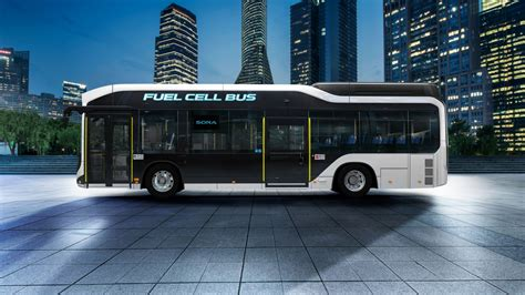 Toyota Sora Fuel Cell Bus 4K Wallpapers | HD Wallpapers