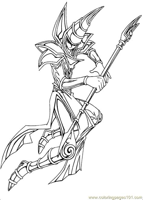 Yu Gi Oh Coloring Page 15 Coloring Page - Free Yu-Gi-Oh